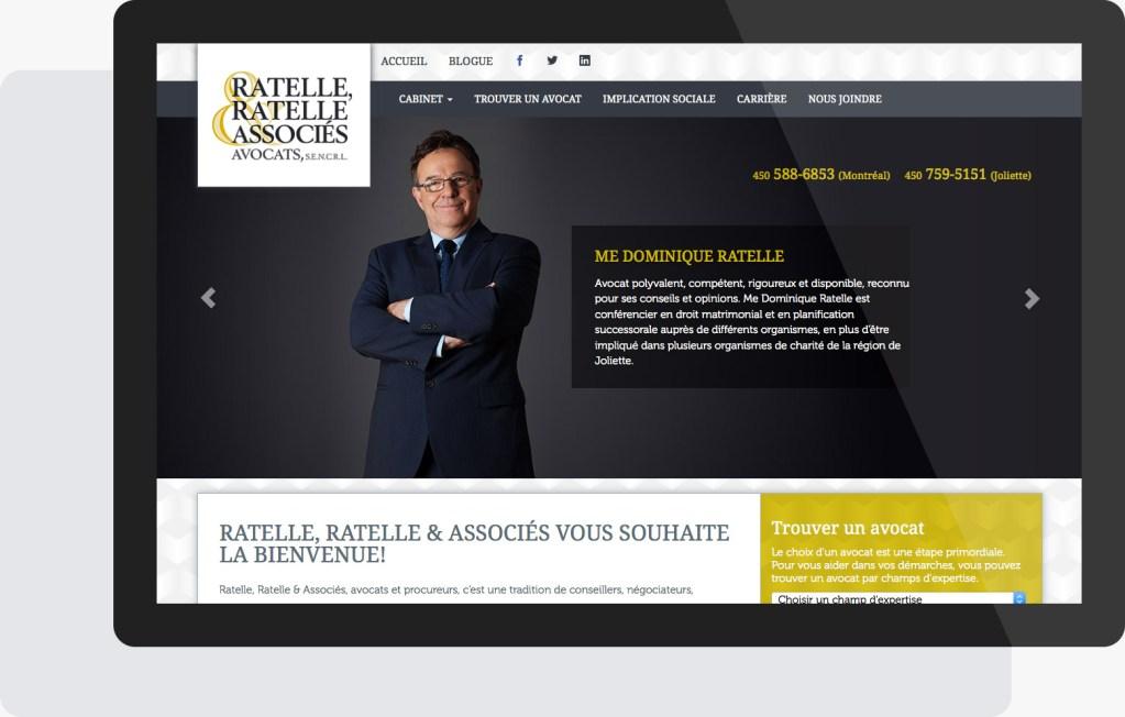 Portfolio Mioudesign - Ratelle, Ratelle & Associés