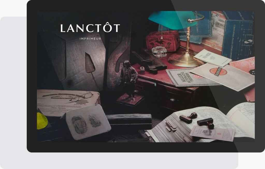 Portfolio Mioudesign - Imprimerie Lanctôt