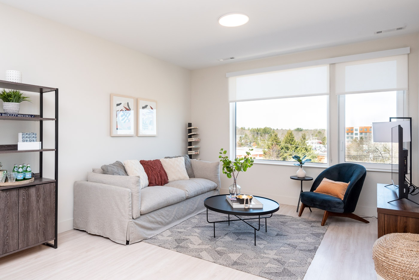Open concept layouts