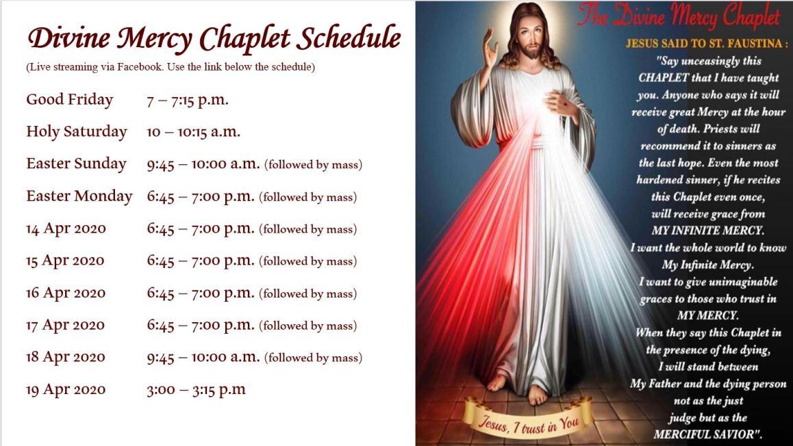 Divine Mercy Schedule v6