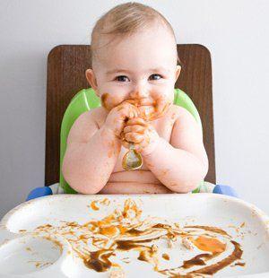 De bebe 4 meses comida y medio para