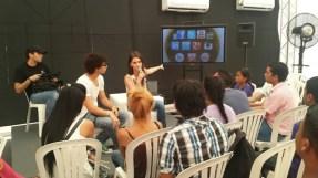 Tallerista en Festival Profest de la Alcaldía de Barranquilla. Charla: redes sociales más allá del chat. 2013