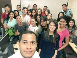 2016 - Alumnos de Inducción al Social Media de la Universidad de la Costa - CUC