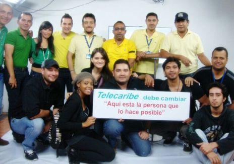 Equipo de Producción de Canal Telecaribe. 2014