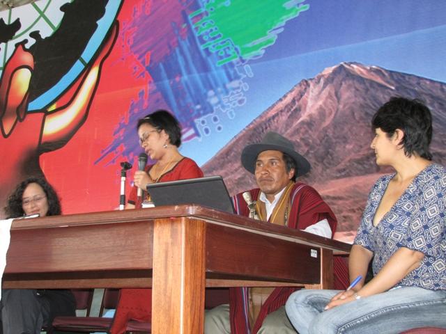 Informe desde Cochabamba – Bolivia