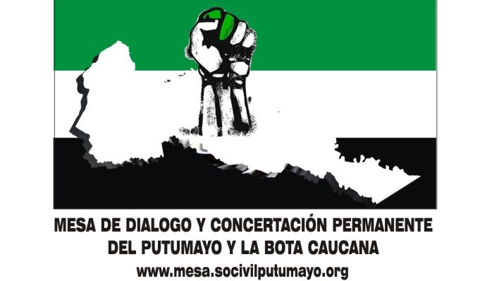 Avanza manifestación pacifica en el Putumayo