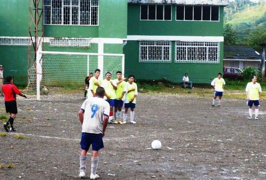 Interbarrios de Futbol en Mocoa