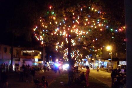 Luces de Navidad en Mocoa