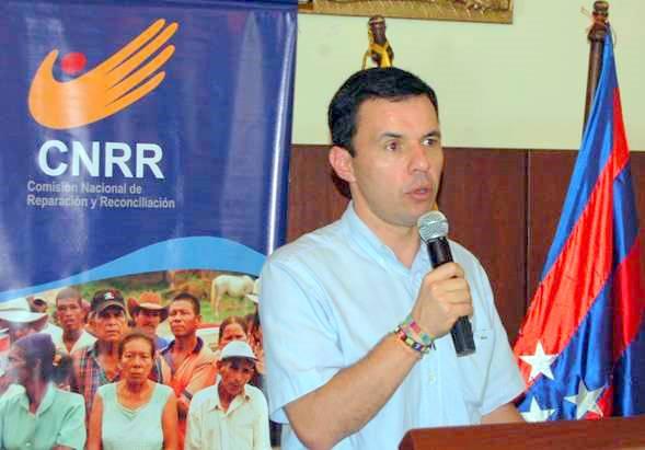 Guillermo Rivera, el abogado de las víctimas