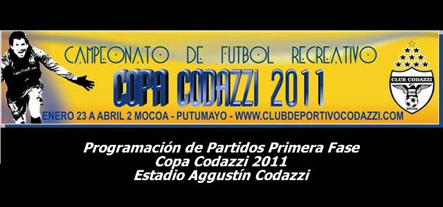 Inicia Campeonato de Futbol Recreativo – Copa Codazzi 2011
