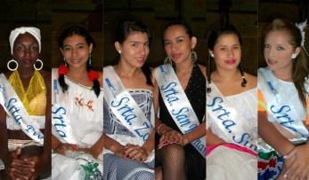 Candidatas al Reinado del Carnaval de Mocoa 2011