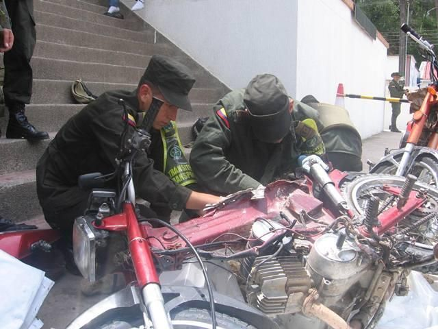 En el chasis de dos motocicletas, narcotraficantes pretendían movilizar 19.000 mil gramos de base de coca.