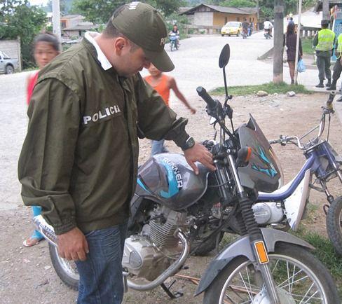 Operativos permiten a la  Policía recuperar  motocicletas y  capturar a ocho personas.