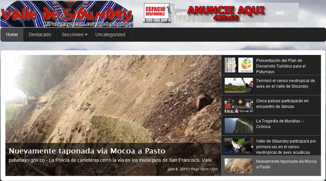 Valle de Sibundoy, la nueva sección de MiPutumayo.com.co