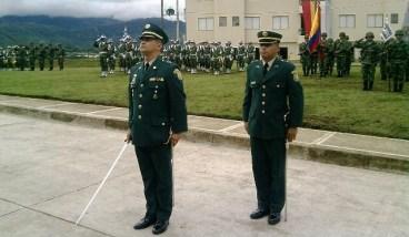 TC Carlos Augusto Ortiz - Comandante Entrante del BASPC 27