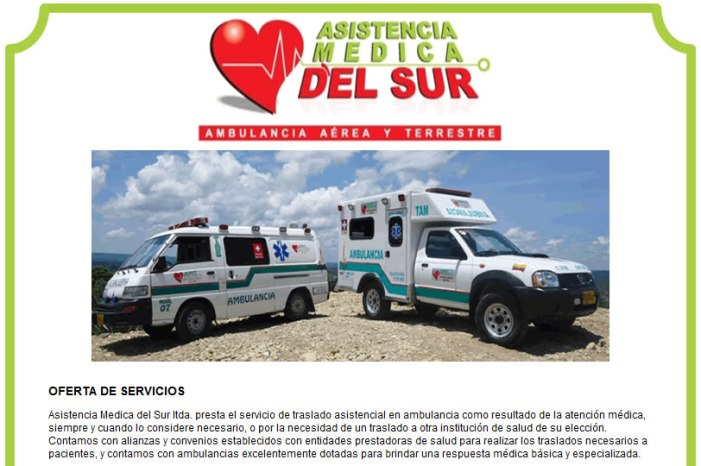 Asistencia Médica del Sur – Ambulancias. Estados Financieros 2013-2012