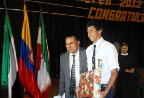 Premio a mejor bachiller ICFES de Mocoa