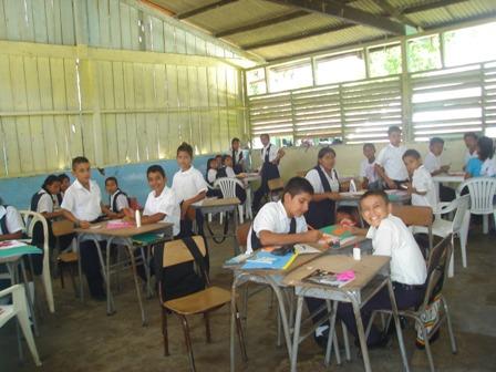 Estudiantes IER Andino Mecaya