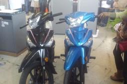 Motos donadas por Fernando Ochoa y Hugo Gil Perez