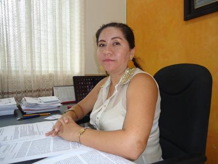 Elisabeth Ortega Erazo, Secretaria de Salud Departamental, firmo convenios con las Eps, del Putumayo