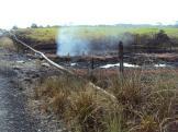 Sitio donde han ocurrido 8 atentados al oleoducto, entre las delicias y Siberia.