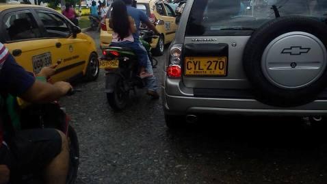 Bienvenido el día sin carro y moto en Mocoa