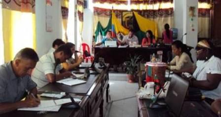 Recinto del Concejo municipal de Orito,