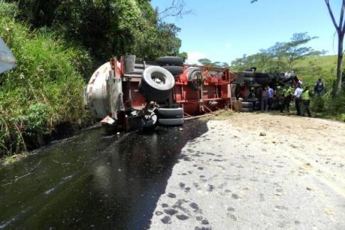 En un 630% se aumentaron los accidentes de carrotanques durante el 2013 en el Huila