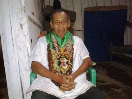 El Taita Serafín es uno de los más reconocidos del Putumayo por su experiencia con el Yagé. Su casa está ubicada en la vereda el Pepino, a 30 minutos de Mocoa, vía a Pasto.