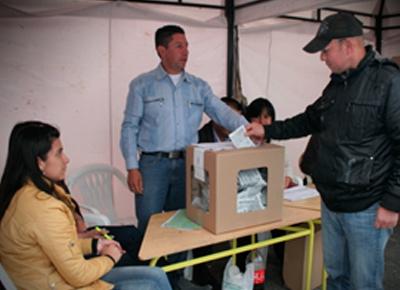 611 mesas distribuidas en 81 puestos de votación en todo el departamento del Putumayo