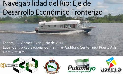 Foro fluvial por la navegabilidad del rio Putumayo