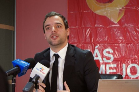 Luis Ernesto Gómez, director del Servicio Público de Empleo