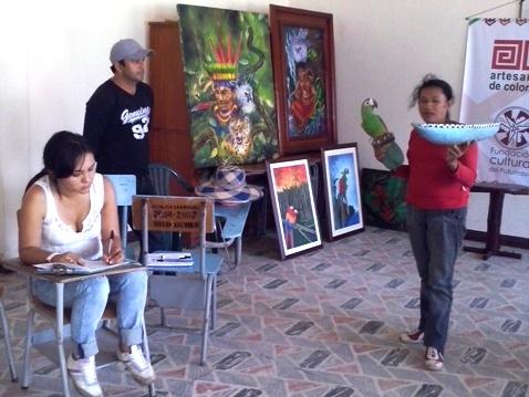 Artesanos de San Miguel reciben capacitación