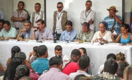 MINISTRO DEL INTERIOR EN EL PUTUMAYO Y ALTO GOBIERNO
