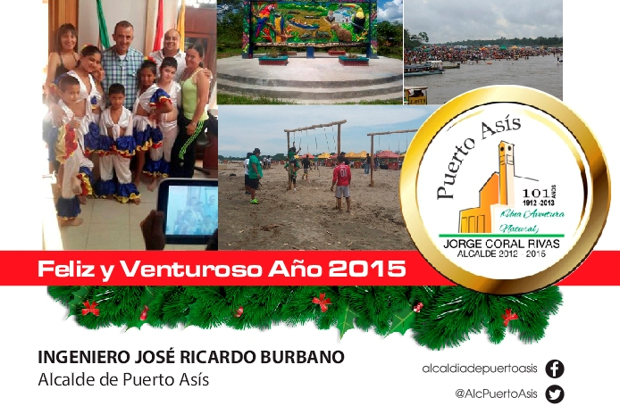 Mensaje de Fin de Año del Alcalde de Puerto Asís