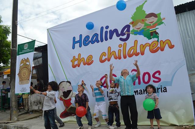 Healing the Children espera operar a cerca de 200 niños del sur del país.