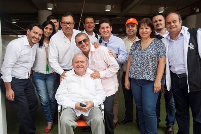 Rodolfo Martínez Tono, falleció en la madrugada de este domingo a sus 87 años de edad