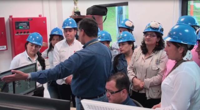 Visita industrial a la Planta Orito y Batería Colón
