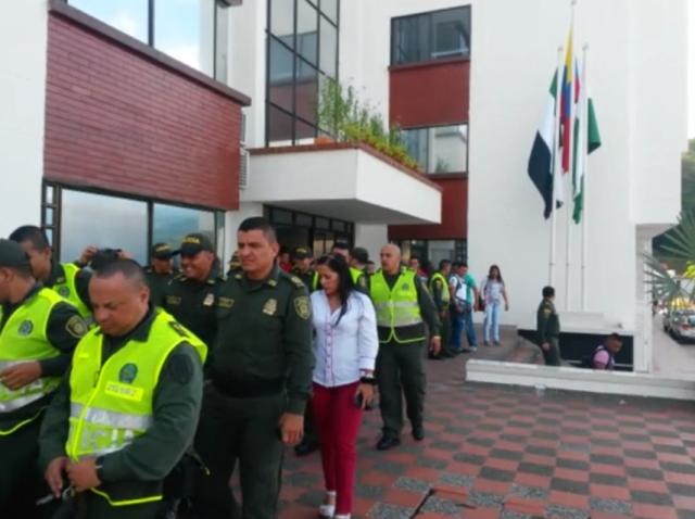 Departamento de Policía Putumayo realiza con éxito simulacro de evacuación