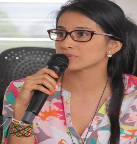Sorrel Aroca.- Gobernadora Electa del Putumayo