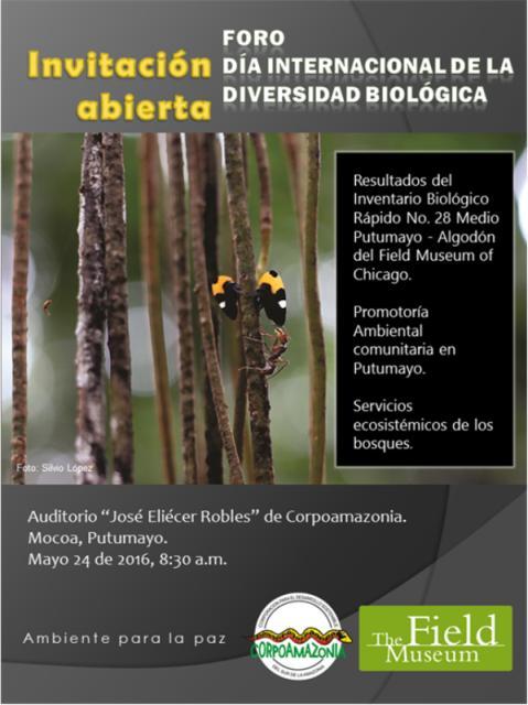 Foro Día Internacional de la Diversidad Biológica