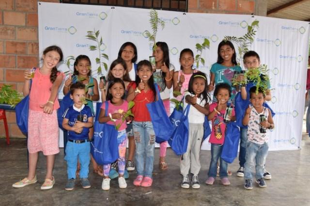 Celebración día del niño veredas La Cofania, Villa Rica, La Castellana y Sanmiguel