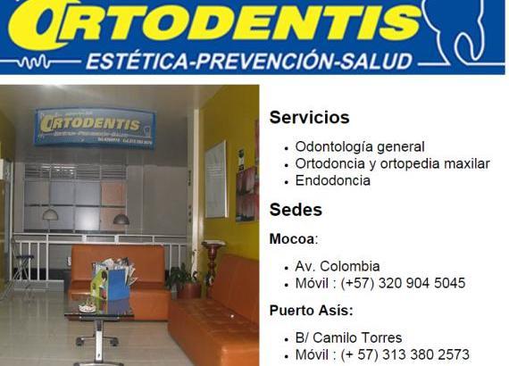 Ortodentis Putumayo IPS Ltda