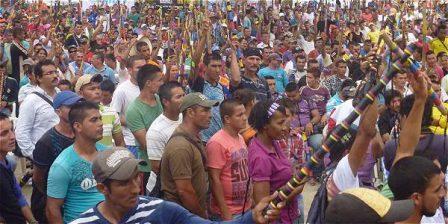 Foto: Archivo particular Población en el Catatumbo, los más afectados por la desinformación.