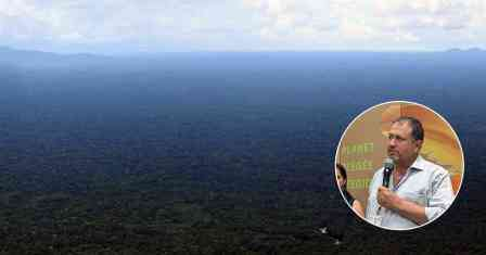 Tarsicio Granizo, coordinador de la Unidad Amazónica de WWF