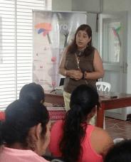 Esp. Marisol González Ossa, Rectora del I.T.P.