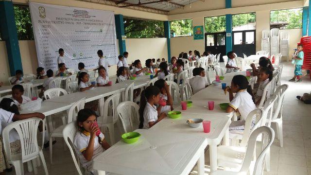 Programa de Alimentación Escolar (PAE) en el Departamento del Putumayo, le sigue apostando a un servicio de alta calidad