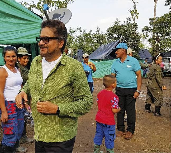 """""""Iván Márquez"""", invita al presidente Juan Manuel Santos, que visite la Zona Veredal de Transición de Normalización del Putumayo"""
