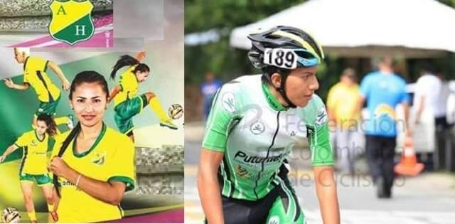 Deportistas Putumayenses que se destacan este año en equipos profesionales en Colombia