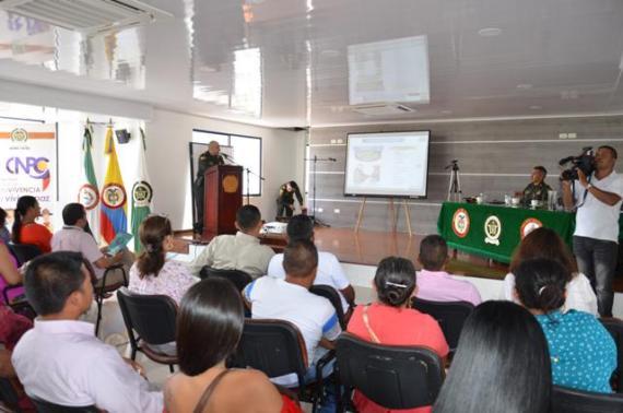 Policía en el Putumayo realiza rendición de cuentas vigencia 2016